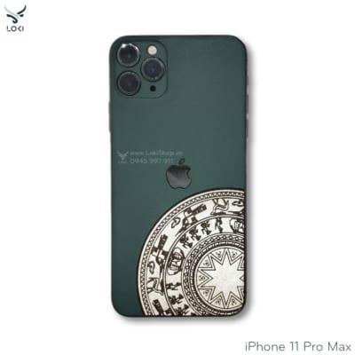 dán da iphone 11